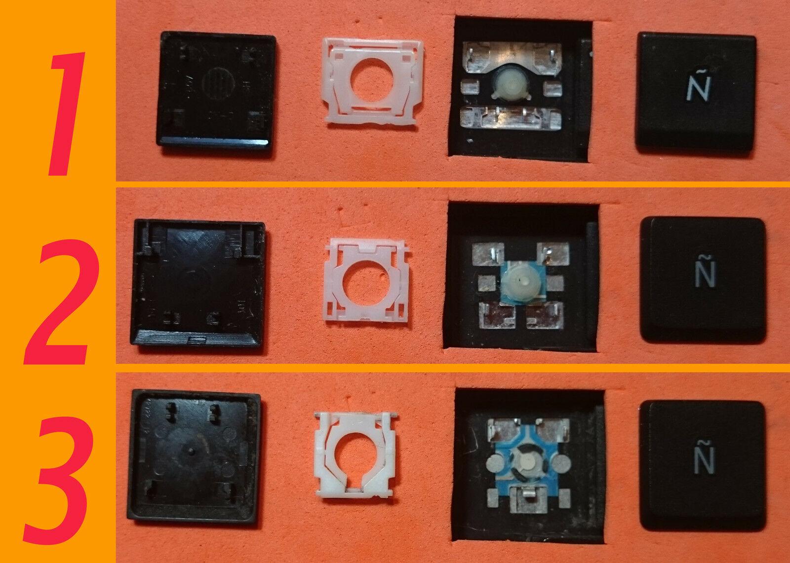 TECLA TECLAS DE TECLADO ASUS X70F X70IC X70IJ X70IO X70KR X70L X70S