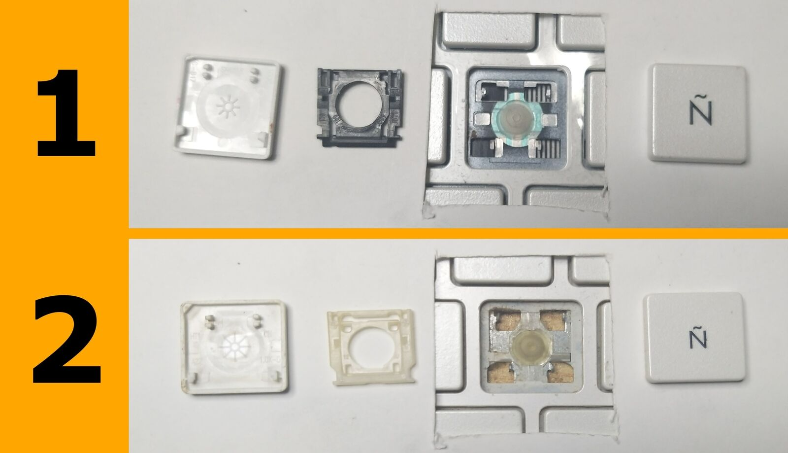 TECLA TECLAS DE TECLADO HP PAVILION G6 G6-2000 G6-2100 G6-2200 G6-2300 G6-2101A
