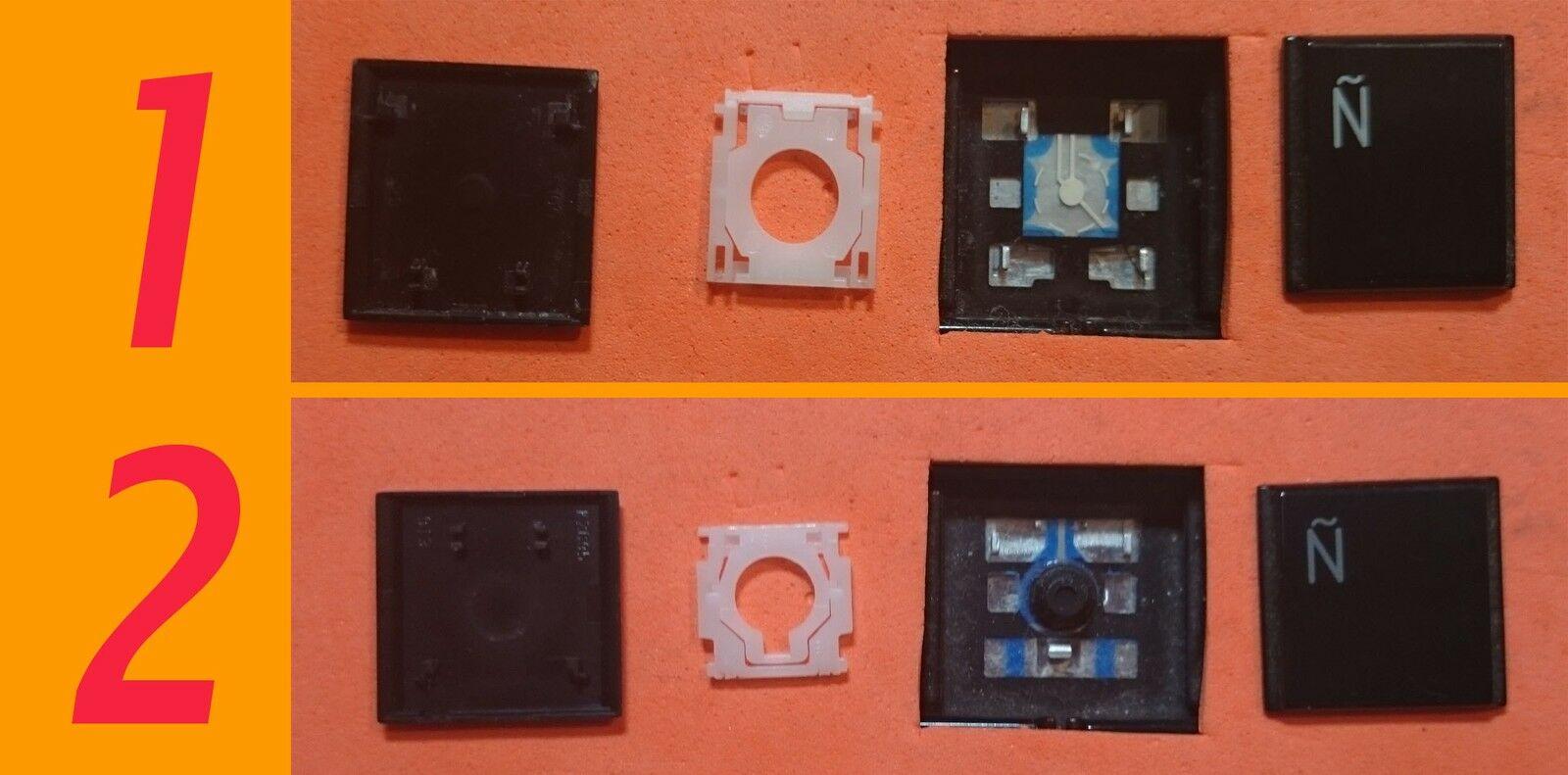 TECLA TECLAS DE TECLADO TOSHIBA SATELLITE L500 L500D L505 A500 A500D
