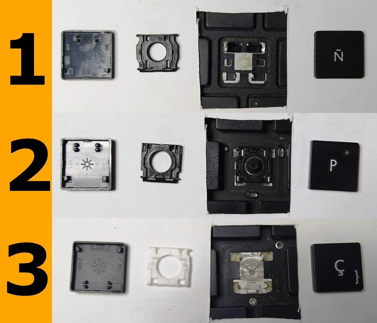 TECLA TECLAS DE TECLADO HP ENVY 4-1100 4-1200 6T-1000 6T-1100 6Z-1000 6-1000