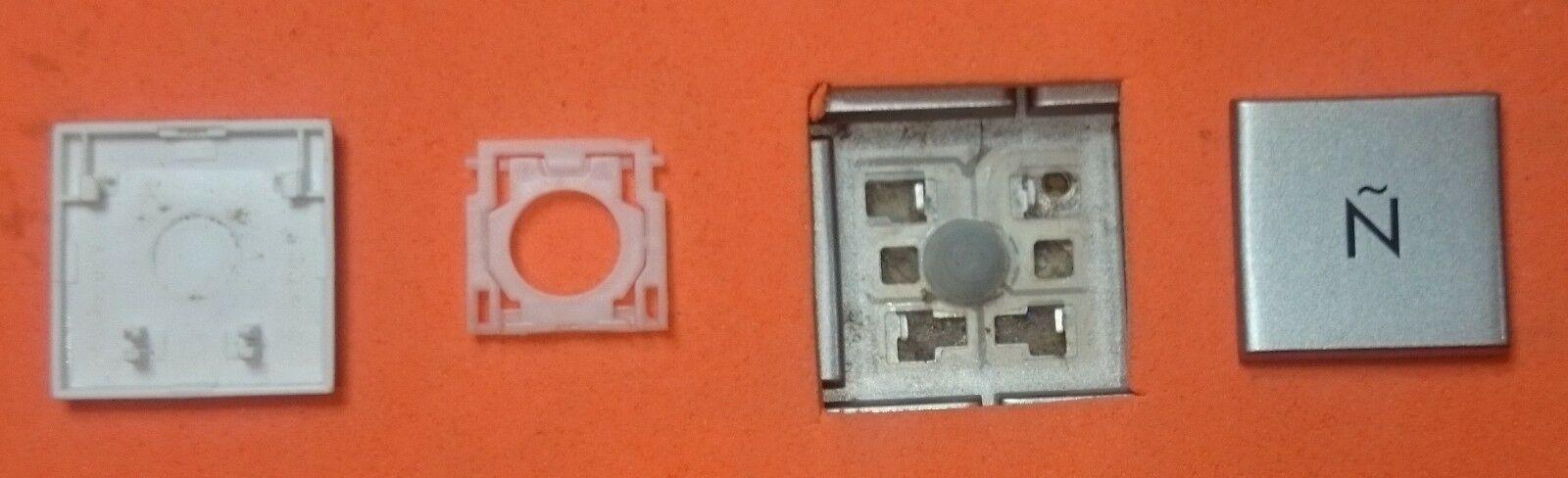 TECLA TECLAS DE TECLADO HP COMPAQ MINI 311 PAVILION DM1 PLATEADA