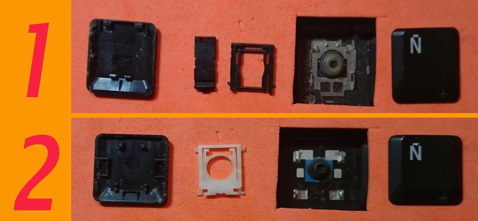 TECLA TECLAS DE TECLADO TOSHIBA SATELLLITE A80 A85 G15 M100 M105 M110