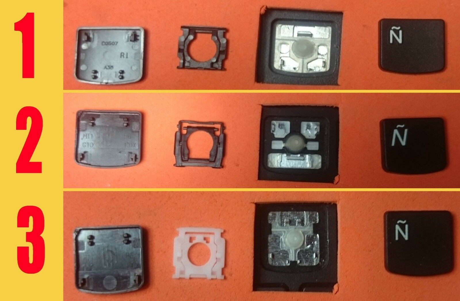 TECLA TECLAS DE TECLADO LENOVO IDEAPAD G500S G505S S500 S510P Z510 FLEX15