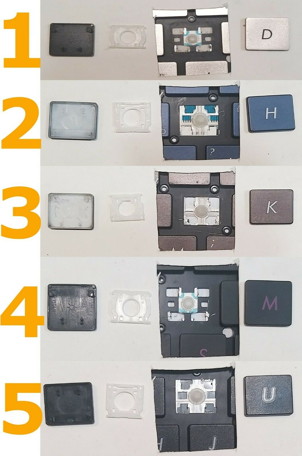 TECLA TECLAS TECLADO ASUS ZENBOOK UX301 UX32 UX32U UX303L UX303 UX303LA UX303LB